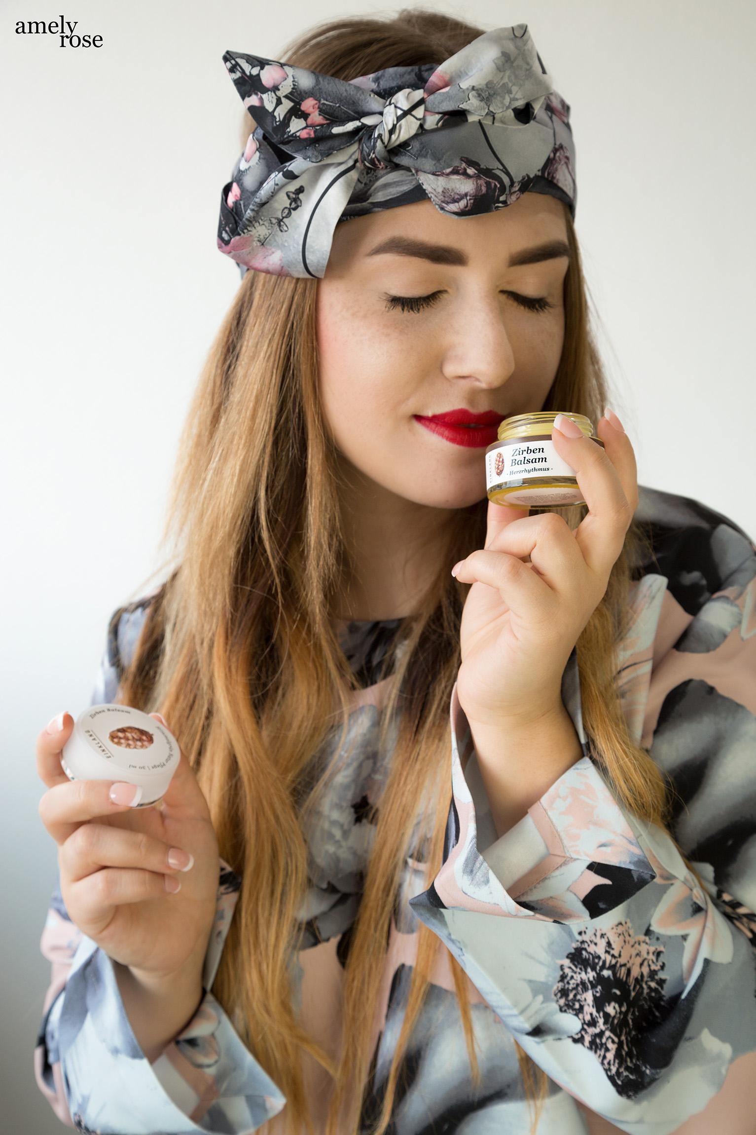 Amely Rose testet vegane Naturkosmetik von Himmelgruen