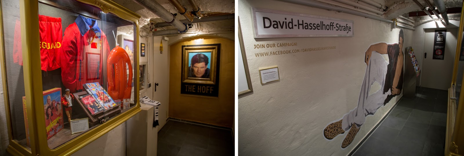 david hasselhoff museum in berlin