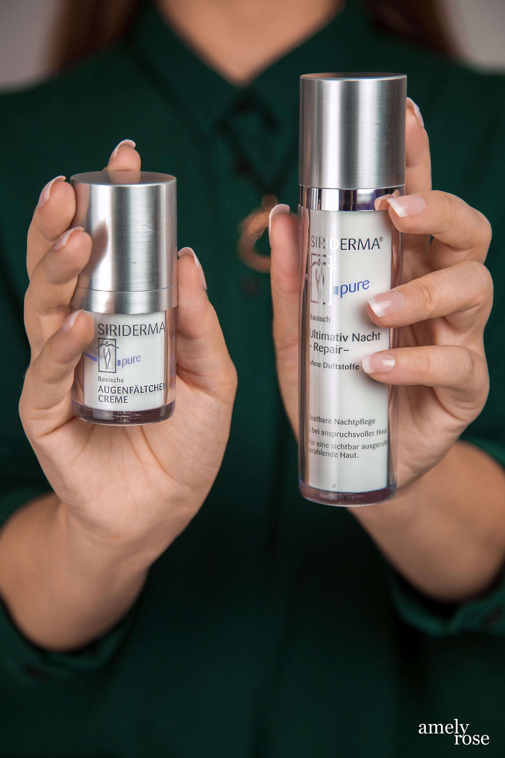 Amely Rose testet basische Pflegeprodukte im Beautyguide - vegane Kosmetik von siriderma Fashionportrait