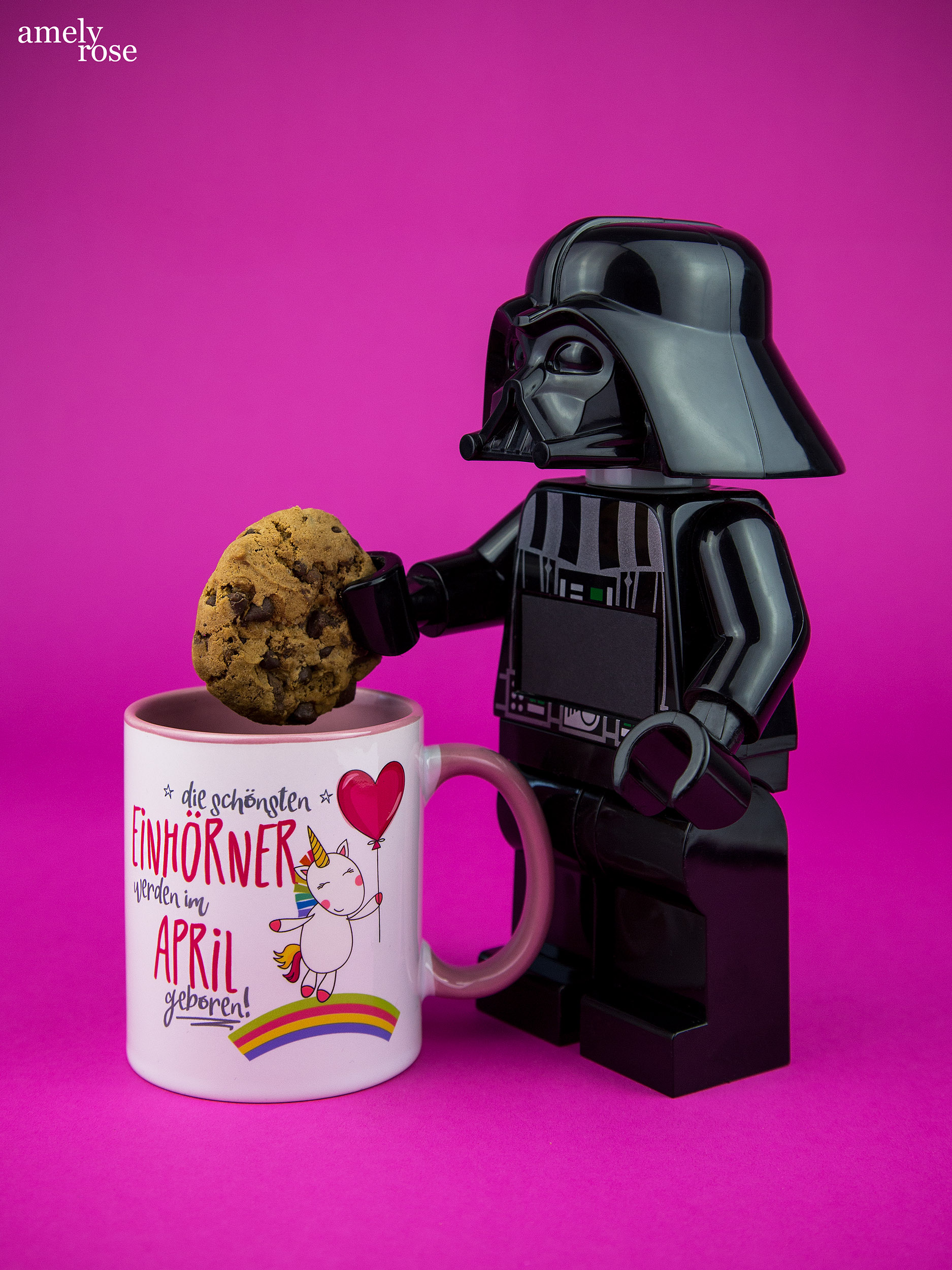 Amely Rose, german influencer und deutscher fashionblog pink star wars kaffee