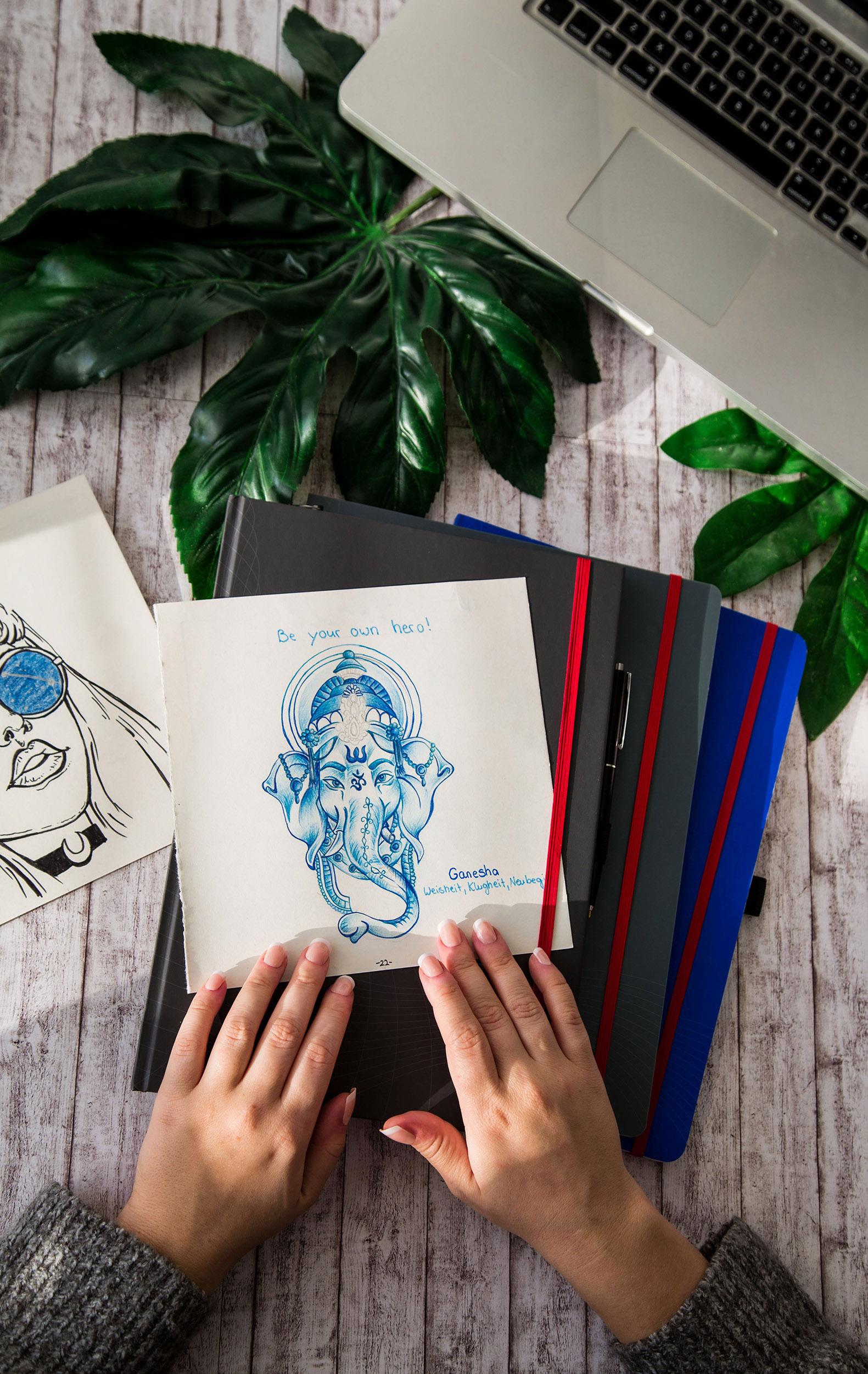 Amely Rose fashionblogger Notizio Avery Zweckform Bulletjournal Bujo Planer Kalender 2018